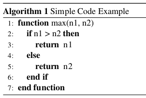 LaTeX - Rendered Example
